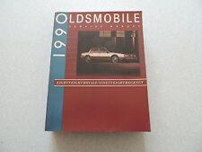 Oldsmobile 88 Royale 98 Regency 1990 SHOP Service Manual Officina Manuale