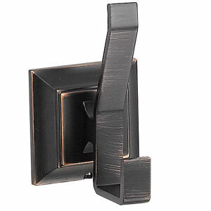 Designers Impressions 500 Series Oil Rubbed Bronze Double Robe Hook [BA509]