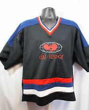 Wu Wear Jersey Wu Tang Clan M-L Vintage Baggy Hockey Style Medium Globe Logo