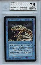 MTG Beta Psychic Venom BGS 7.5 Near Mint+ Magic the Gathering WOTC Card 4260