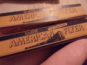 2 American Flyer Passenger Car Boxes.