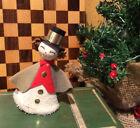 Vintage Christmas Spun Cotton Caroler Ornament Decoration