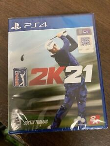 PGA Tour 2K21 PS4 Brand New Factory Sealed PlayStation 4 Golf game