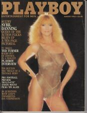 Playboy Magazine  AUGUST 1983 ~ PLAYMATE CARINA PERSSON,SEXY SYBIL DANNING /L3