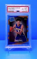 2017 Lonzo Ball Donruss Rated Rookie #199 PSA 8.5