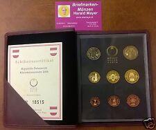 "Euro Coinset PROOF KMS SET Österreich 2004 PP   "" Eiamaya.com"