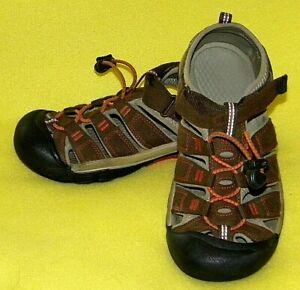 Keen Newport H2 Waterproof Sport Sandals Shoes Brown - YOUTH 4 (EU 36)