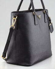 100% AUTHENTIC NEW PRADA VITELLO SAFFIANO SHOPPER HANDBAG/PURSE/ TOTE BAG