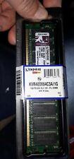 1 x Kingston KVR400X64C3A/1G (1 GB, PC3200 (DDR-400), DDR SDRAM, 400 MHz, DIMM.
