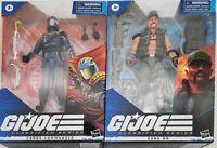 GI Joe Classified Series Cobra Commander & Gung Ho Lot of 2 NEW Action Figures