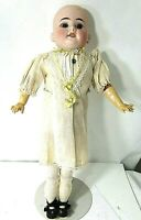 """Antique German 18"""" Armand Marseille 1894 Bisque Head Doll Compo Bod...Wood Limbs"""
