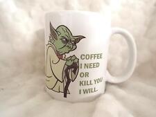 Café j'ai besoin ou vous tuer je vais 11 Oz (environ 311.84 g) Mug Céramique Cadeau Star Wars Inspiré Cadeau