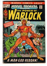 MARVEL PREMIERE #1 (1972) - GRADE 3.5 - 1ST APPEARANCE & ORIGIN OF WARLOCK!