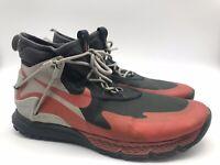 Mens Nike Terra Sertig Boot 916830-003 Anthracite/Dragon Red Men's Sz 11 *flaw