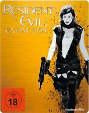 RESIDENT EVIL: EXTINCTION (Milla Jovovich) Blu-ray Disc, Limited Steelbook Edt.