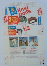 1975 Hostess King Dons BOX Seaver Blyleven Speier Mets Twins  MINT Flat UNUSED