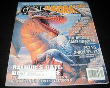 Vintage Game Informer Magazine Nintendo PS Nes Sega video games 2001 issue 96