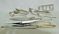 Lot of Sterling Flatware and Other Misc. Sterling Scrap – 1490g Scrap