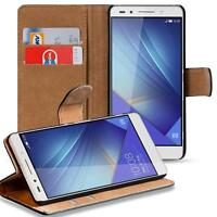 Case Cover For Honor 7 Magnetic Flip PU Leather Wallet Holder Shell Bag