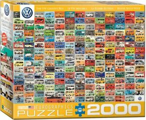 The VW Groovy Bus 2000-Piece Puzzle