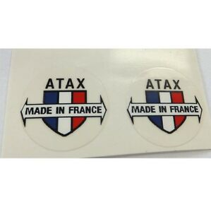 Atax Made in France stem decals
