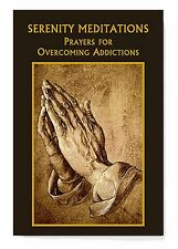 """Serenity Prayer Book (MC002) NEW 30 Days of Meditation and Prayers 96 pages 4x6"""""""