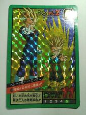 DRAGON BALL POWER LEVEL SUPER BATTLE PART 10 NO:408 PRISM CARDS