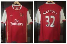 ARSENAL LONDON 2006/2007/2008 #32 WALCOTT HOME FOOTBALL SHIRT JERSEY