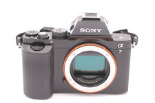 Sony Alpha 7 A7 24.3MP 3''Screen Digital SLR Camera Shutter Count: 9- body