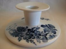 Royal Copenhagen Porcelain Blue Flowers Candle Holder Candlestick