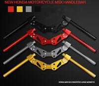 Motorcycle Handlebar Lower Sport Kit Set Race Handle Bar System for Honda MSX125