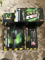 Ghostbusters PKE Meter Ghost Trap Ecto Goggles  Spirit Halloween New Lot