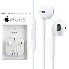 GENUINE APPLE iPHONE 5 5S 5C iPad Air HANDSFREE EARPHONES HEADPHONES WITH MIC
