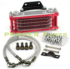 Oil Cooler Radiator 90cc 110cc Red Fit China Pit Dirt Monkey Bike ATV Motorcycle