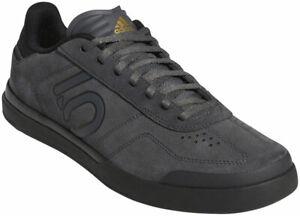 Five Ten Sleuth DLX Flat Shoes   Grey Six / Core Black / Matte Gold   10