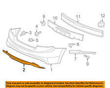HONDA OEM 12-13 Civic Rear Bumper-Lower Cover 04716TR7A91