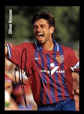 Oliver Kreuzer Autogrammkarte FC Basel 90er Jahre  Original Signiert+A 154576