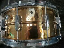 Ludwig Hammered Bronze Snare Drum 6.5x14