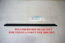 TOYOTA-FORTUNER-2005-2015-GENUINE-WINDOW-GLASS-SEALS-DOOR-BELT-WEATHER-STRIP-LH
