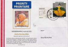 """Ganzsache Austria """"Katholikentag 2004"""" Priority gest. echt gelaufen aus Nachlass"""