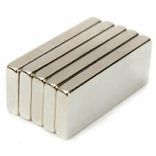 10/50/100  Super Strong Block Fridge Magnets Rare Earth Neodymium 25x10x3mm N52