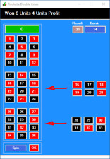 Roulette Strategy Software System