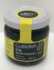 Tinta esterilizada Sepia 90g Tarro de tinta de calamar sin gluten, arroz negro, paella