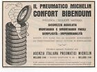 Pubblicità epoca 1927 MICHELIN PNEUMATICI AUTO advert werbung publicitè reklame