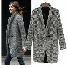 Embellished Hip Length Casual Coats & Jackets for Women