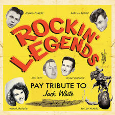 Various Artists : Rockin' Legends Pay Tribute to Jack White CD (2013) ***NEW***