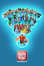 "Disney's RALPH BREAKS THE INTERNET 2018 Original DS 2 Sided 27X40"" Movie Poster"