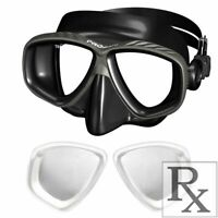 RX Prescription Optical Scuba Dive Snorkel Purge Mask Nearsighted -1.0 to -10.0