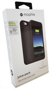 Mophie iPhone 6 PLUS / 6S PLUS Juice Pack Charging Cover Case - Black