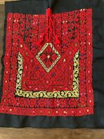 Lovely Antique Middle Easter/Turkish Hand Embroidery Dress Top, MB353